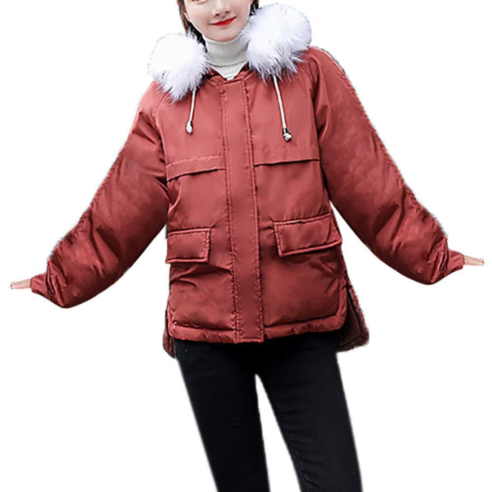 c2188b7dea6339 TianWlio Mäntel Frauen Weihnachten Damen Mantel Langarm Strickjacke Jacke  Outwear Herbst Winter Winter Winter Warme Kunstpelz Kapuze Dicke Warme  Dünne Jacke ...