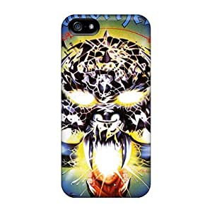 Iphone 5/5s GEC3823rJoI Support Personal Customs Lifelike Motorhead Band Pattern Shock Absorption Hard Cell-phone Case -SherriFakhry