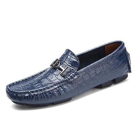 Zapatos de Hombre Cuero/Primavera / Otoño Confort/Suela Ligera/Zapatos de Conducción