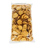 Mission Foods Round Tortilla Chips, Yellow, 2 Pound (Pack of 6)
