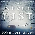 The Never List | Koethi Zan