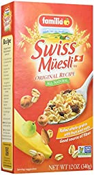 Familia Swiss Muesli Cereal, Original Recipe, 12-Ounce Boxes (Pack of 6)