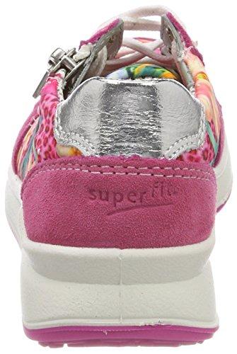 Superfit Mädchen Merida Sneaker Pink (Pink Kombi)
