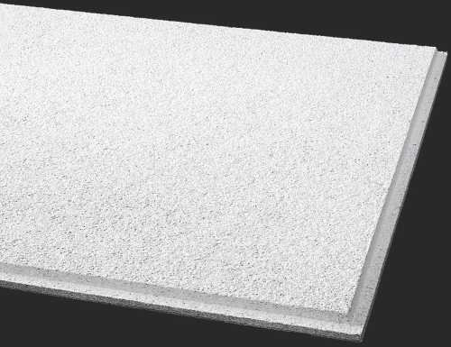 (Armstrong BPGR584B Acoustical Ceiling Panel 584B Cirrus Humiguard Plus Angled Tegular, 12 Per Case, 51