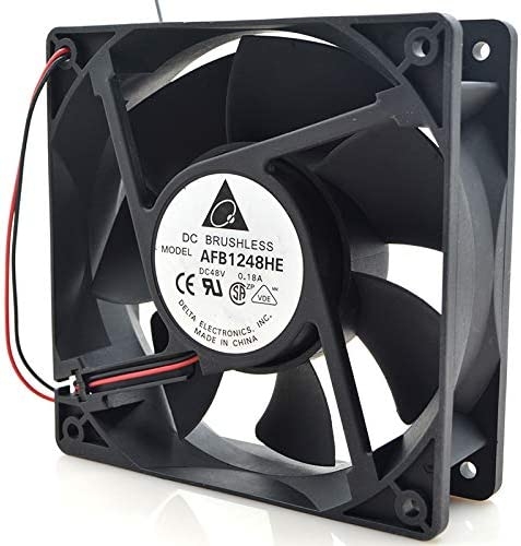 for Delta afb1248he-roo12038 48v0.18a12cm3 line Industrial Computer Inverter Cooling Fan