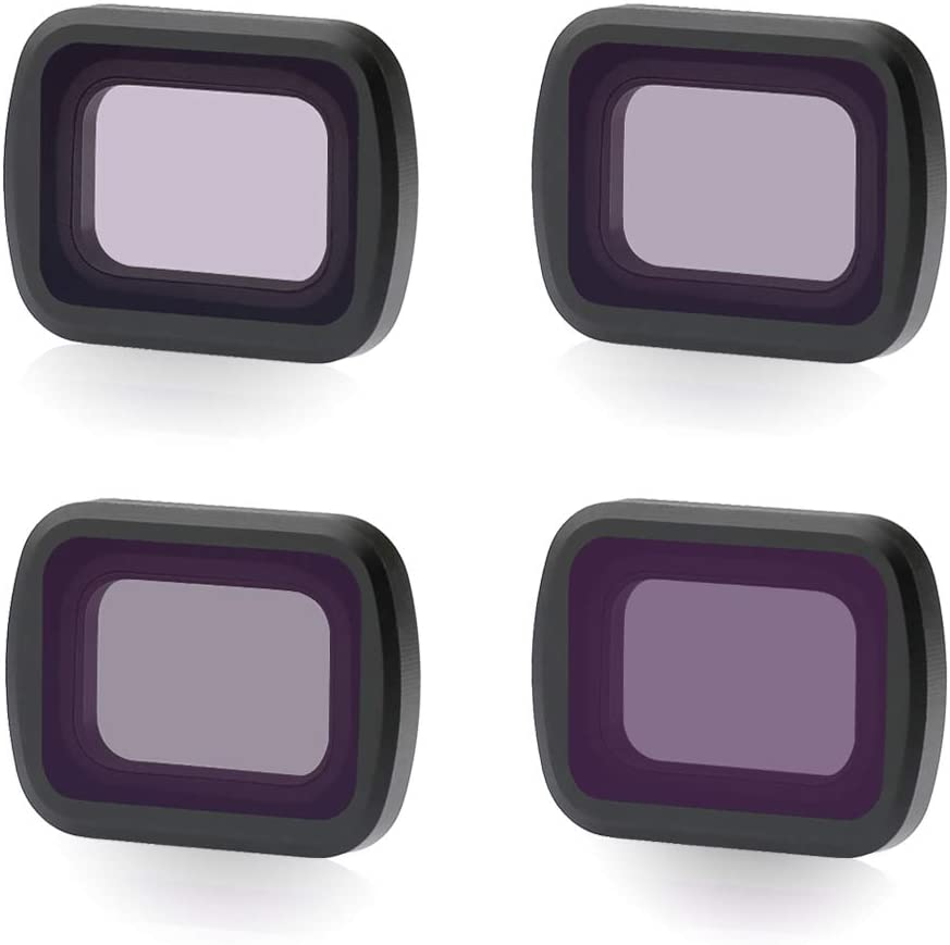 ND4 8//16//32 FairOnly Action Camera Filter Protect Lens Filters for F-IMI P-ALM Sport Camera Accessories 5 Piece Set CPL