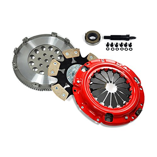 EFT STAGE 4 CLUTCH KIT+FLYWHEEL ECLIPSE GST TALON TSi LASER RS 4G63 TURBO - Eclipse 92 Bolt 6