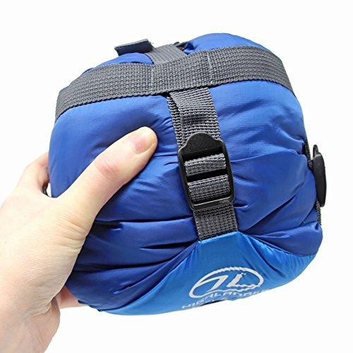 Highlander Trekker Superlite 1-2 Season Lightweight Sleeping Bag, Ultralite...