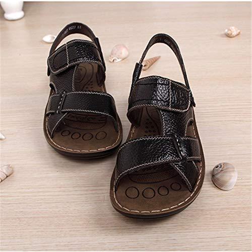 Sandalo pantofole Sport Per 0 CM 0 Uomo Con Pelle Aperta Wagsiyi 27 Scarpe Estive 24 da spiaggia Scarpe All'aria Da In Nero Sandali f5dWwqp