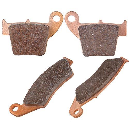ECCPP Front and Rear Sintered Brake Pads Fits Honda CR125R CR250R CRF450R FA185 FA346