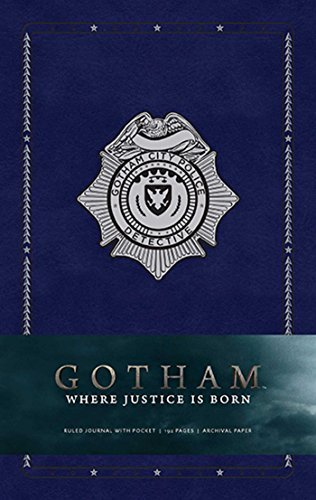 Gotham Hardcover Ruled Journal (Insights Journals) by Warner Bros. Consumer Products Inc. (2016-04-12) thumbnail