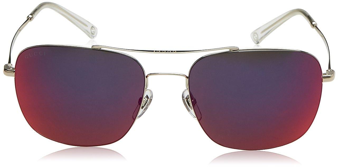 003d0d87d8e Amazon.com  Gucci Women s Aviator Sunglasses