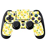 Lemon Lemon Lemons and More Lemons Pattern PS4 DualShock4 Controller Vinyl Decal Sticker Skin by Moonlight Printing
