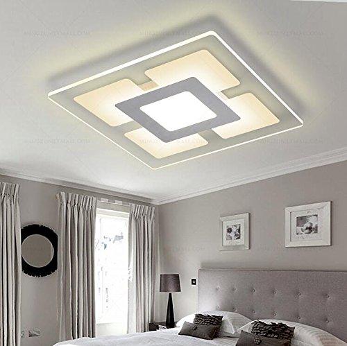 Hochwertig Deckenleuchte Ultradünne LED Deckenbeleuchtung Lampe Wohnzimmer Lampe  Einfache Moderne Ideen Der Atmosphäre Schlafzimmer , 600*400mm: Amazon.de:  Beleuchtung