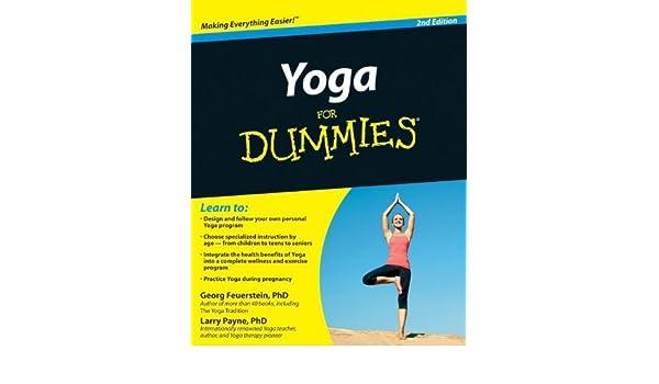 Yoga For Dummies by Georg Feuerstein (2010-04-05): Georg ...