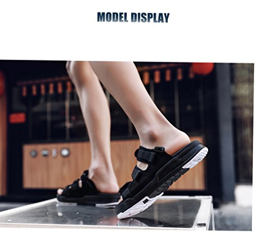 Da Style Casual Scarpe Uomo black Sandali Comfort Summer Camo Uomo YXLONG Da Sandals v51ZOwTq