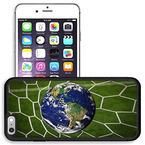 Liili Apple Iphone 6 Plus Iphone 6S Plus Aluminum Backplate Bumper Snap Iphone6plus 6Splus Case Iphone6 Image Id  16215494 Earth Globe In Goal Net With Green Grass Field