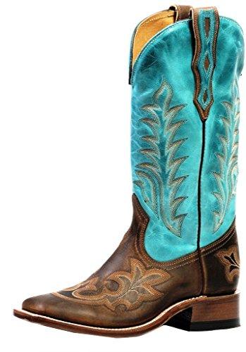 American Boots - cowboy boots: cowboy boots BO-4307-65-C (normal walking) - Women - Turquoise / Brown sale outlet store pouHTX