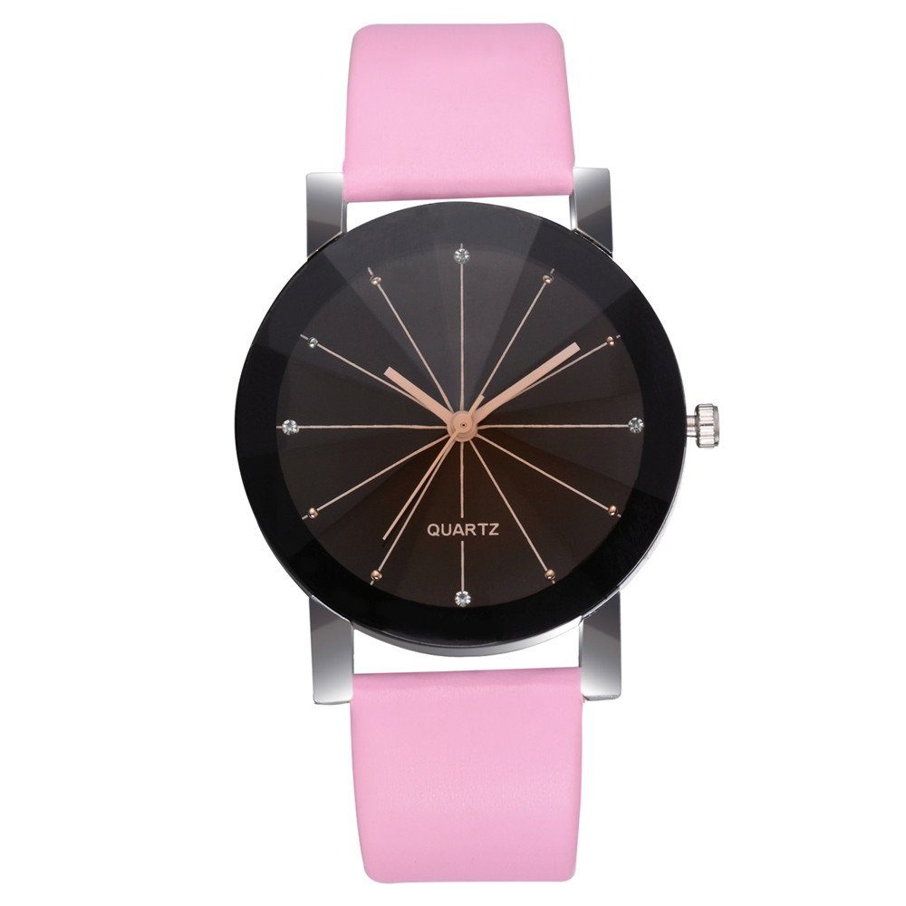 Zaidern Womens Leather Belt Watches Unique Analog Quartz Fashion Clearance Lady Watches Female Watches on Sale Casual Wrist Watches for Women Round Dial Case Comfortable PU Leather Watch