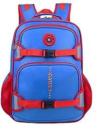 Big Capacity Pressure-relieve Children Toddler Kids 2-4-6th Grade Pupils School Bag Backpack