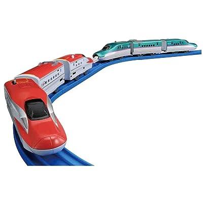 Takara Tomy Plarail E5 Shinkansen & E6 Shinkansen Consolidated Set: Toys & Games
