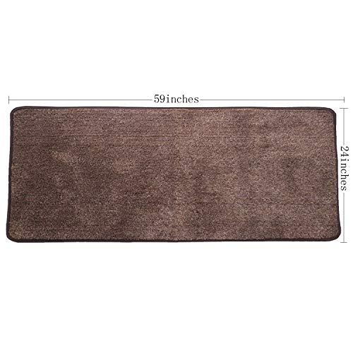 - Red Fire Indoor Super Absorbs Mud Pet Mat Non Slip Front Door Carpet with Anti Skid Rubber Backing Home Entrance Rug Coffee 24 X 59 inches