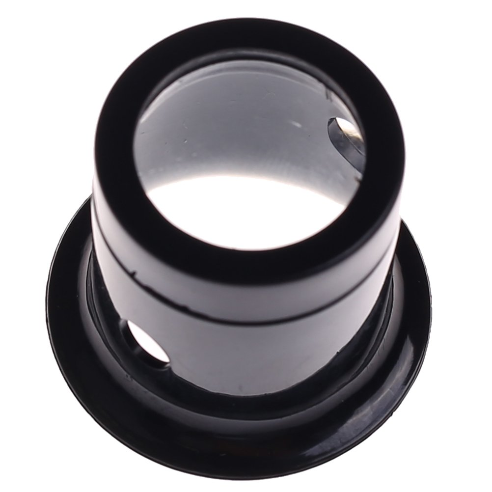Ioffersuper 1 Pcs 10X Black Jewelers Loupe Magnifier Magnifying Eye Loop by Ioffersuper (Image #5)