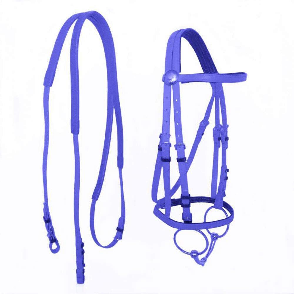 GCSEY Duradera Collar Principal Caballo Halter Brida Hípica Hípica Equipo Cabestro PVC Caballo Ecuestre Accesorios