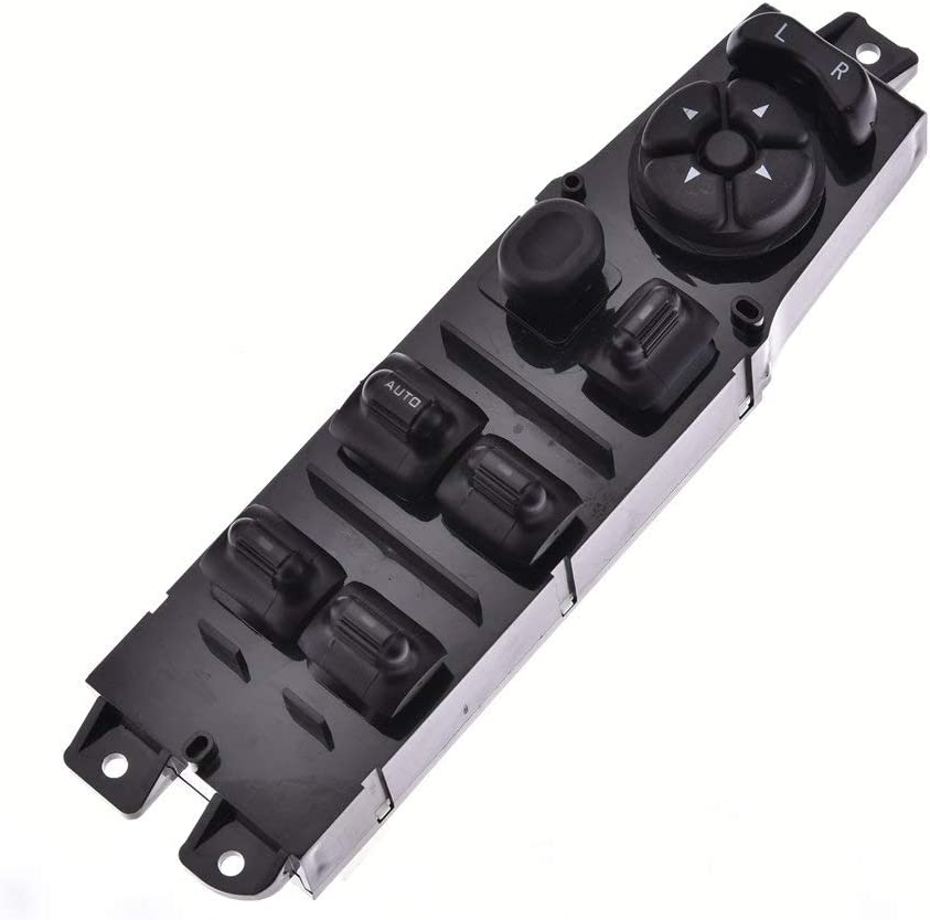 56009449AC Driver Side Master Power Window Switch Replacement for Jeep Cherokee 1997 1998 1999 2000 2001, Replace OE# 68171681AA