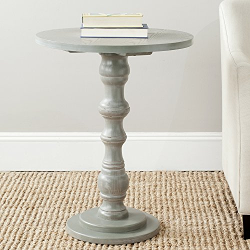 Ash Round End Table - 7