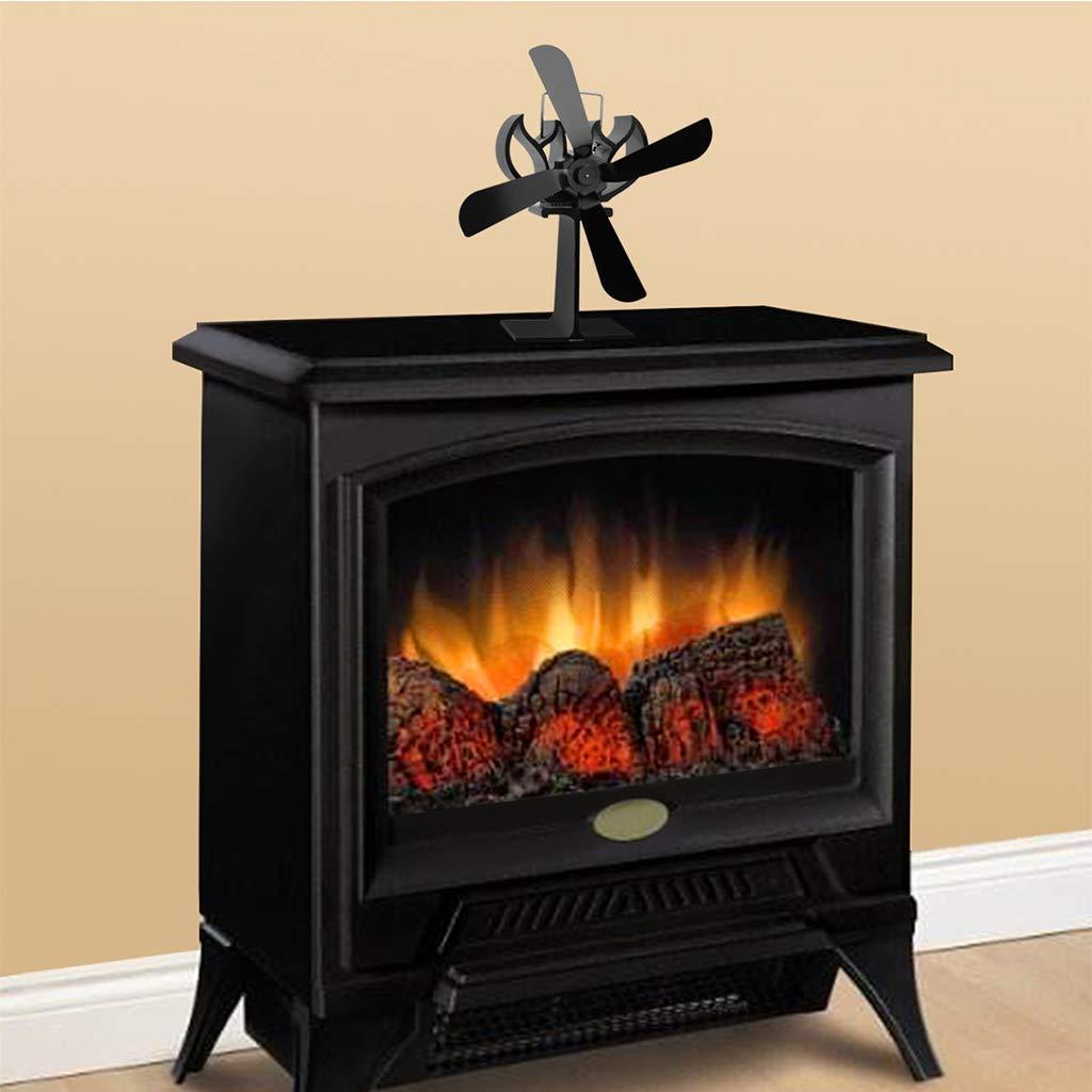 A/ñada Su Familia Hogar en este invierno adicionales calor y comodidad. exing Stove Fan 4S metafood Ventilador para chimenea holz/öfen Hornos