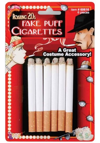 Fake Cigarettes (Standard) (Halloween Accessories)