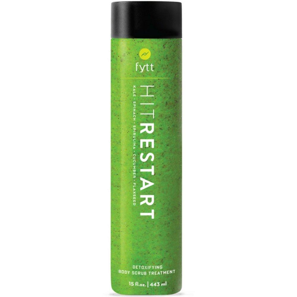 Fytt Hit Restart Superfoods Deep Cleansing, Detoxifying & Exfoliating Treatment To Help Treat Acne, Blackheads, Cellulite, Stretch Marks & Skin Bumps (Keratosis Pilaris) - Gluten Free Formula, 15 oz