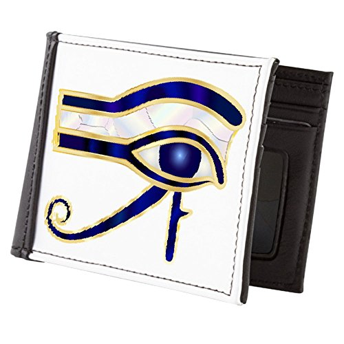 Truly Eye of Men's Egyptian Billfold Wallet Ra Horus Teague or XYrwgqX