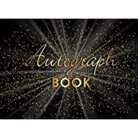 Autograph Book: Memory Book, Signature Celebrity Memorabilia Album Gift, Blank Unlined Keepsake Scrapbook Favorite…