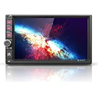 Android 7 Car Stereo Radio - Corehan 7 inch Double Din In Dash Car Video Player Navigator with Bluetooth Wifi GPS Navigation System