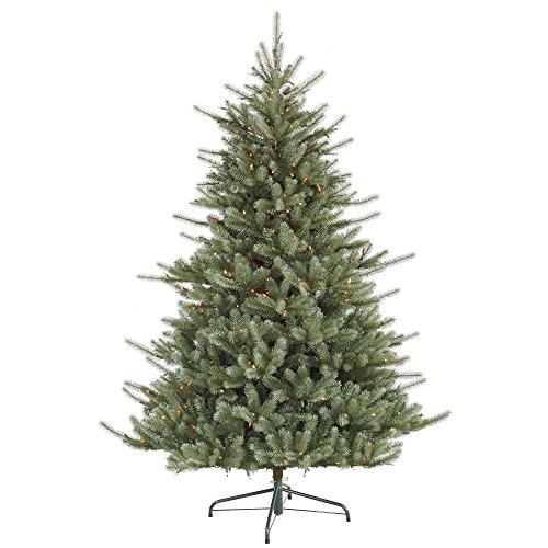 Vickerman 6.5' Colorado Blue Spruce Artificial Christmas Tree w/Multi-Color Lights