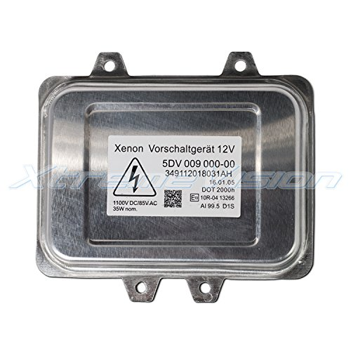 XtremeVision HELLA 5DV 009 000 Factory OE HID Xenon Replacement Ballast   D1SD1R Single   1 PCS   2 Year Warranty