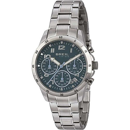 BREIL Watch Tribe Circuito Male Chronograph Blue - EW0378