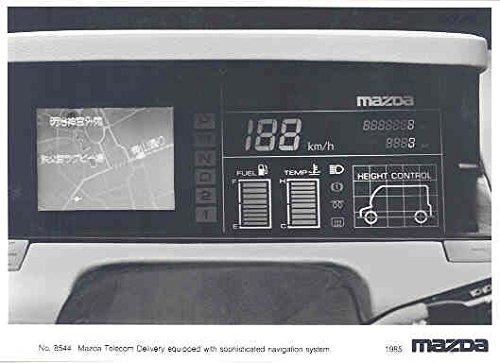 1985 Mazda Telecom Navigation System Concept Car Photo