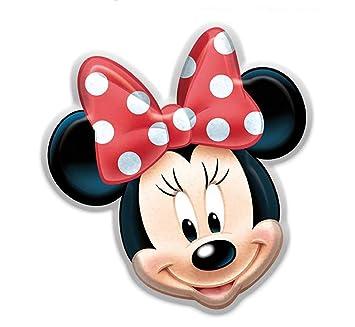 Disney- Cojín 3D con Forma Minnie Mouse (Suncity SUE-LR2187)