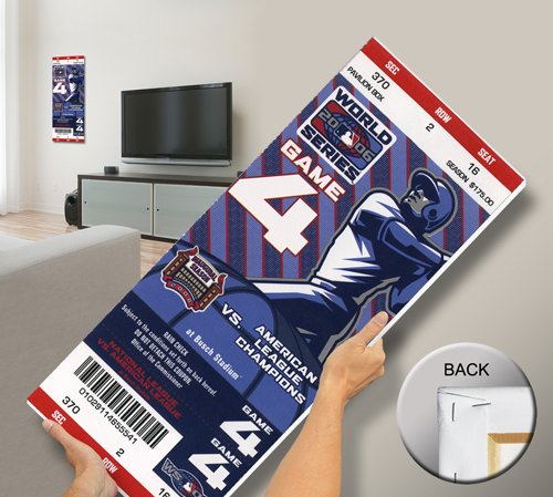 That's My Ticket 2006 World Series Mega Ticket Wall Decor, St Louis Cardinals (Stl Cardinal Tickets compare prices)