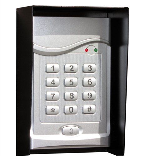 ALEKO® Universal LM106M 12V Wired Keypad in Metal Box for all 12V Gate ()