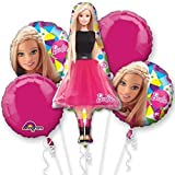 Barbie Sparkle Bouquet Of Balloons
