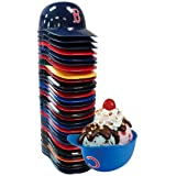 MLB Complete Set with Team Logos Cake Toppers. fb Set of 30 Major League Baseball Mini Baseballs