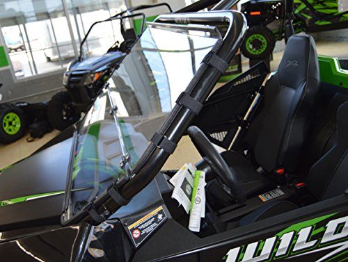 Arctic Cat Wildcat TRAIL / Sport - Full Folding Scratch Resistant UTV Windshield. The Ultimate in Side By Side Versatility!Premium Polycarbonate w/ Hard CoatMade in America!! by Clearly Tough (Image #2)