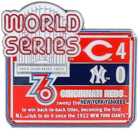 1976年MLBワールドシリーズ履歴ピン – Limited Edition 1 即納送料無料 ...