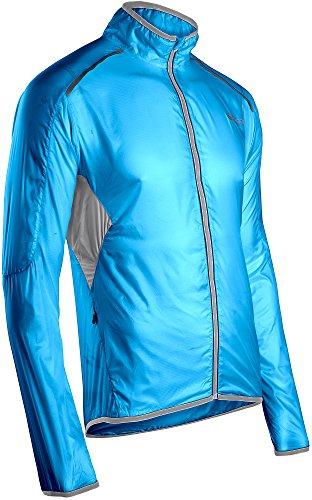 Sugoi Men's Helium Jacket, Cyan, Medium Helium Cycling Jacket
