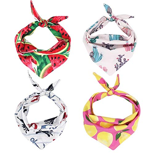 V-HOUE Dog Bandana Dog Bandana Bandanatie On Bandana Dog Scarf Petdog Accessory for Gifts by V-HOUE