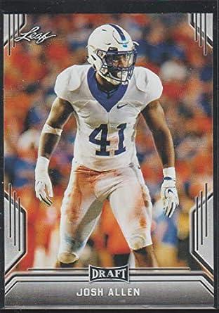 promo code 4c0e3 bd450 2019 Leaf Draft Josh Allen Jaguars Rookie Football Card  42